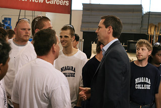 Dalton McGuinty Speaks with Students