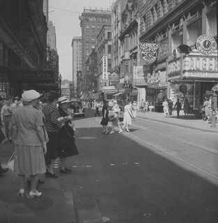 Providence, RI Downtown Providence in 1945