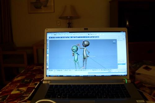 Laptop Novo! by - Cinthia Fujii -