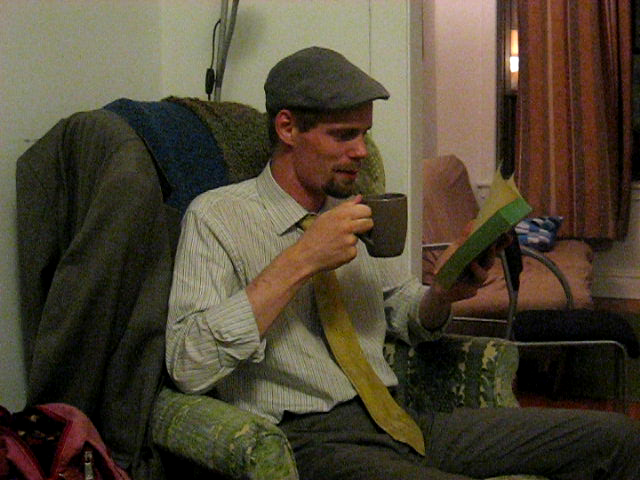 "Reading of First Page of ""Moby Dick"" by Daniel R Sutter"