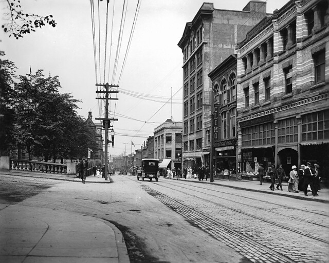 Barrington Street, Halifax, NS, about 1915