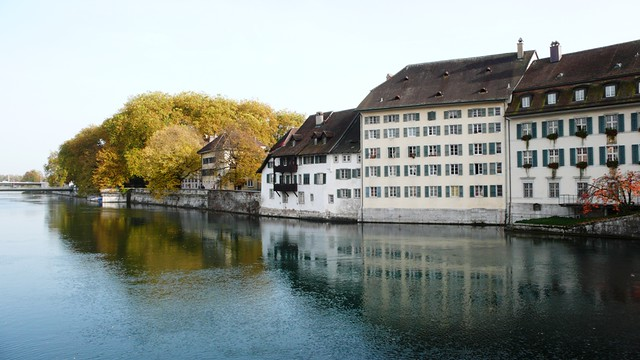 South Bank River Aare, Solothurn