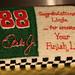 "Nascar ""Dale Jr"" Retirement Cake by reneescakes"