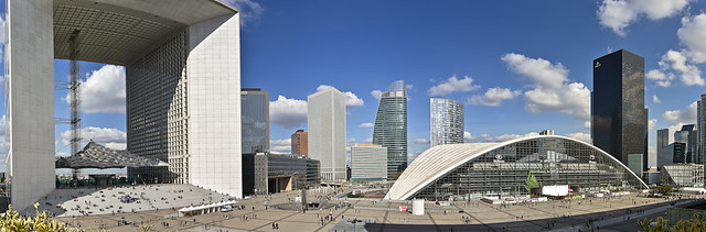 Pano, La Defense, Paris,