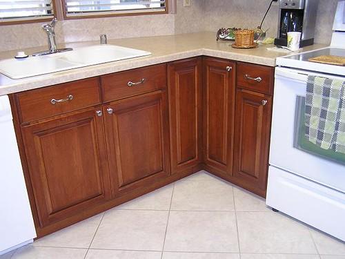 Cherry Kitchen Doors B Amp