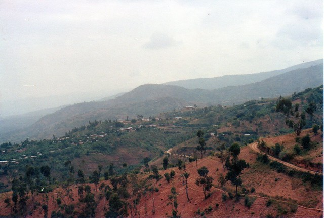Hills around Bujumbura