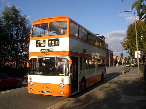 6809 Leyland Atlantean TWH 809K, Frederick Road, Salford