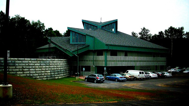 THE NEW ESOPUS TOWN HALL IN JULY 2009