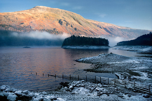 Thirlmere in the Frost, Cumbria