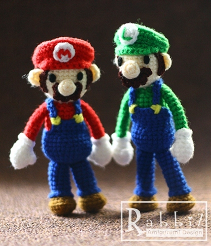Mario Luigi Amigurumi : Amigurumi Mario & Luigi For more info... visit my ...
