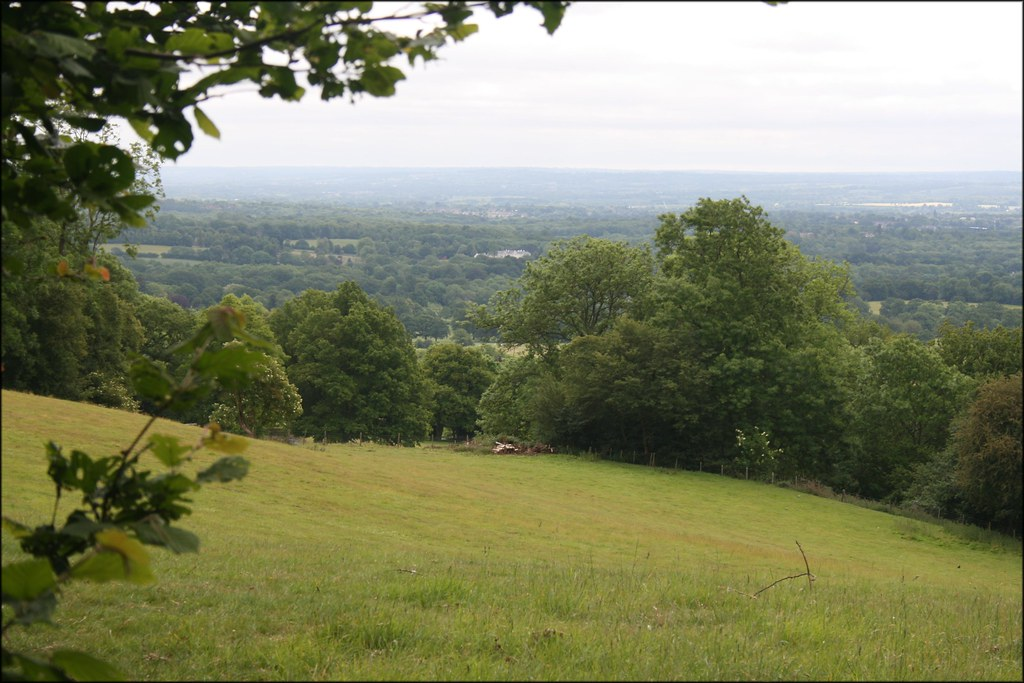 View north of Underriver Near Sevenoaks, Kent