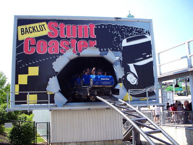 Kings Island - Backlot Stunt Coaster