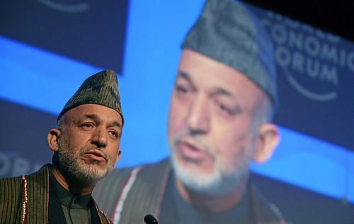 Hamid Karzai - World Economic Forum Annual Meeting Davos 2008