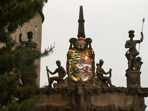 Torgau Schloss Hartenfels Wappen 153