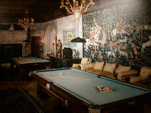 hearst castle billard room