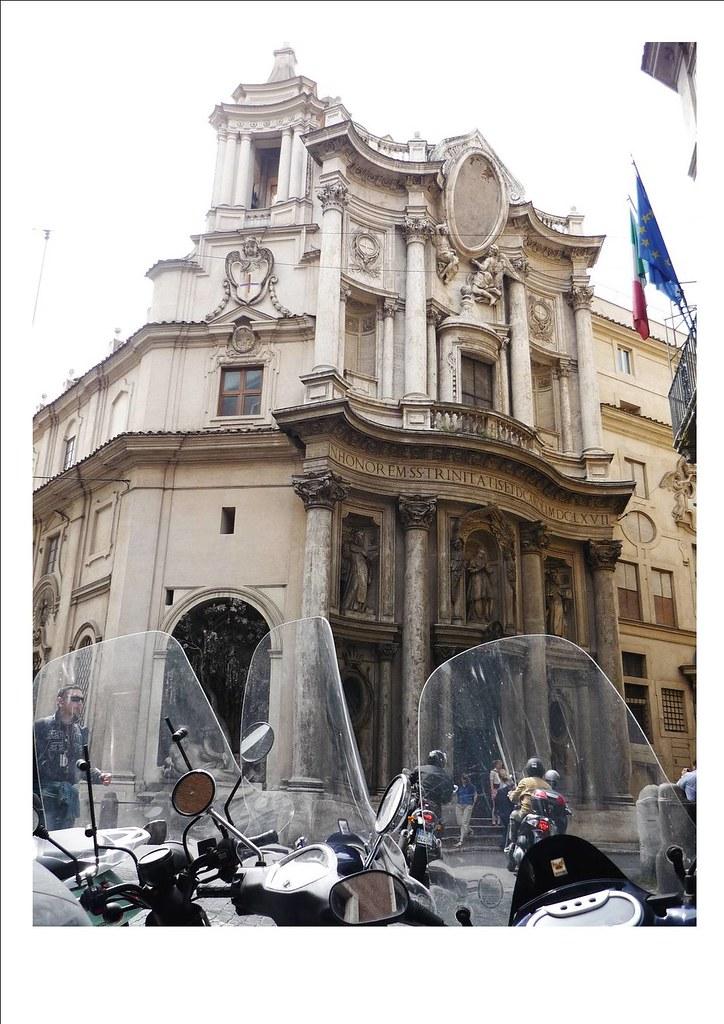 Roma San Carlo Alle Quattro Fontane Xispace Flickr