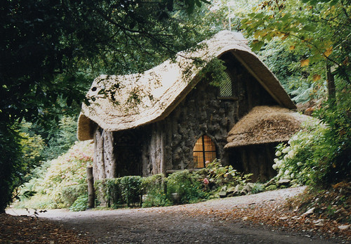 Blaise Rustic Cottage newly thatched