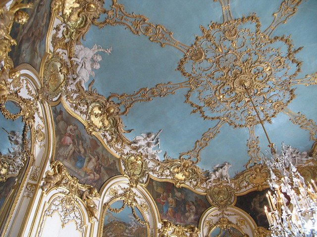 Ceiling in the Hôtel de Soubise