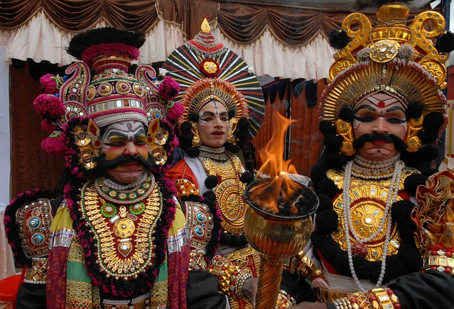 Faces of Yakshagana