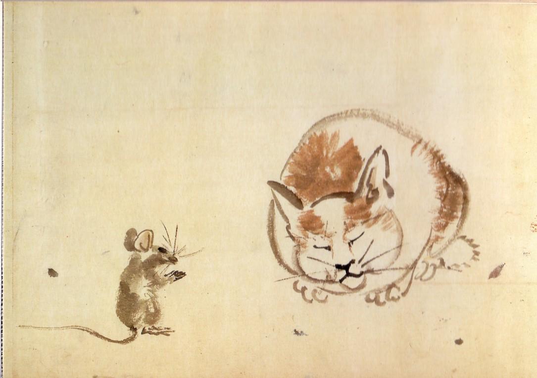 画像 : 【浮世絵】江戸時代のネコ好きが描いた絵がかわいすぎて