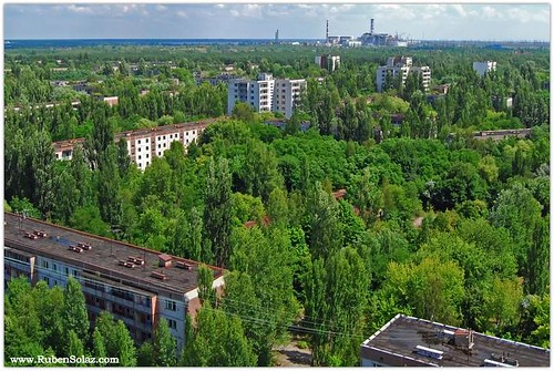 Chernobyl aftermth-Ghost city