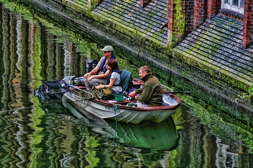 anglers on the Wensum