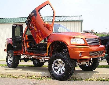 pimped out trucks
