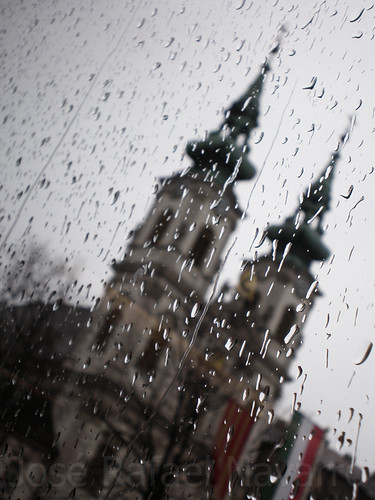 Lluvia en Budapest