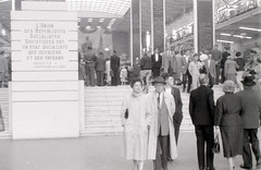 Soviet Union pavilion, Expo 58 World Fair, Brussels, 1958