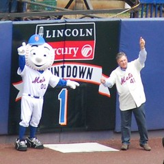 Mr. Met and Tom Seaver Reveal Number 1