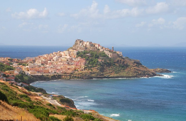 View on Castelsardo