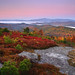 Ossipee Range and the Belt of Venus by Jim Salge