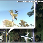Google Maps sky view?