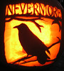 The Raven Pumpkin by tomhauburn