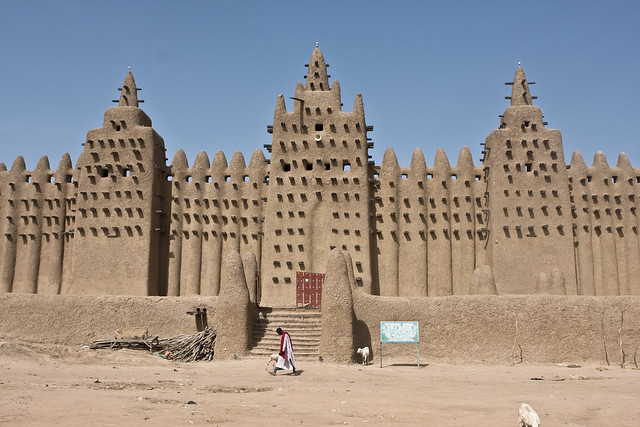 Djenne mosque in Mali