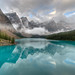 Moraine Lake from the Rockpile — HDR version - Version 2 by etherflyer