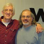 Bill Kirchen with Darren DeVivo at WFUV