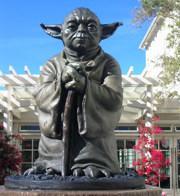 Yoda Statue At Industrial Light & Magic, The Presidio Of
