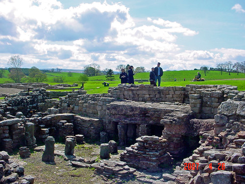 Excavated Roman Site, Hadrian's Wall