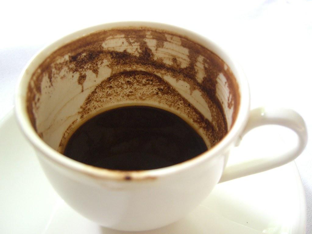 Turkish Coffee grounds - degustation - Ottoman Cuisine