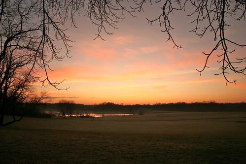 lake nature water sunrise frost horizon corecreekpark ef24105mmf4lisusm cdreilly christopherreillyphotography