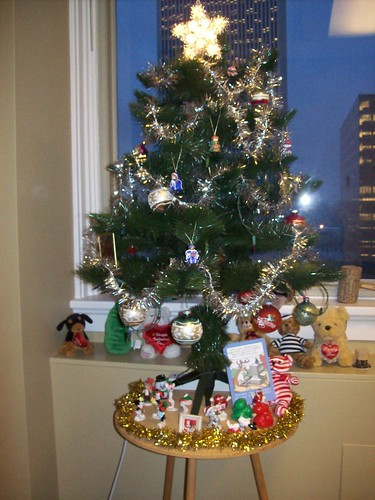 My office Christmas tree