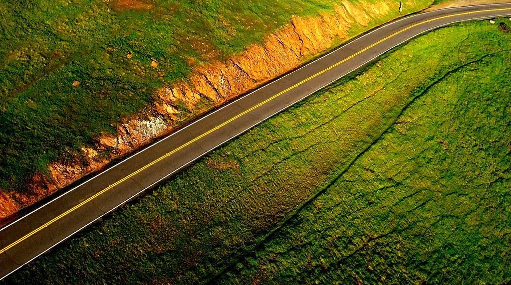 Road to Bolinas Ridge