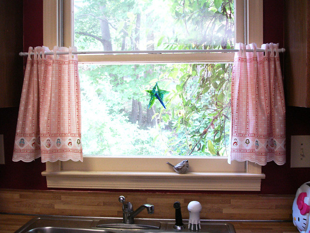 Kitchen Cafe Curtains: Over Sink | Flickr - Photo Sharing!