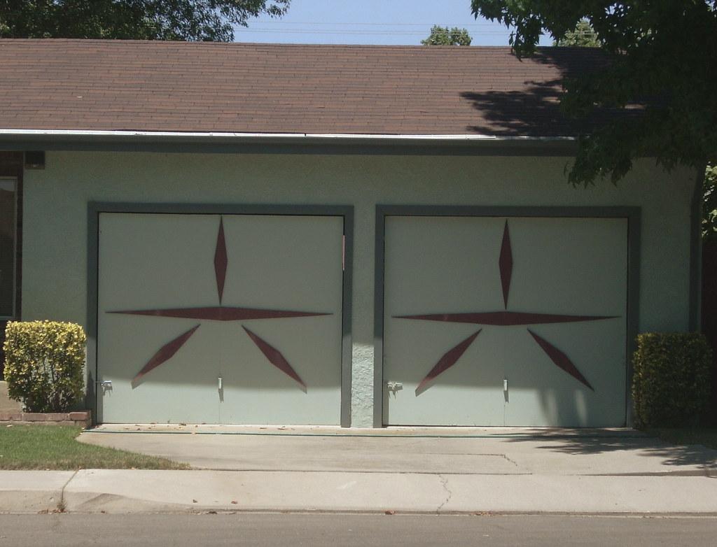 Mid Century Modern Garage Doors Modesto Ca J L Ordaz Flickr