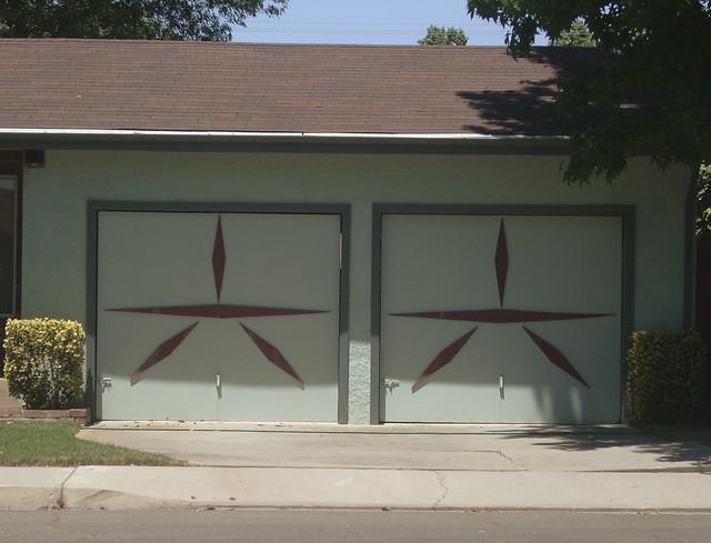 mid century modern garage doors flickr photo sharing