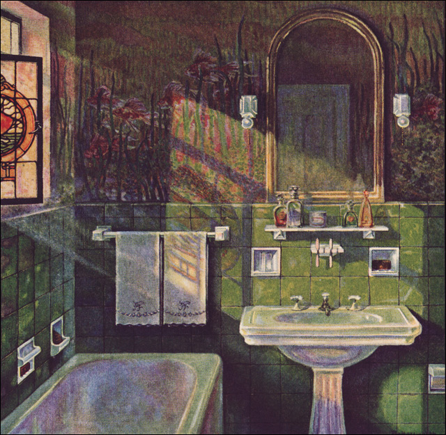 1925 Fairfacts Vintage Bathroom