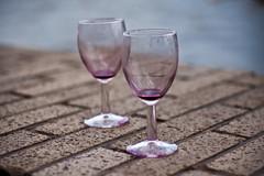 wine glass, purple, wine, drinkware, stemware, glass, red wine, champagne stemware, drink, alcoholic beverage,