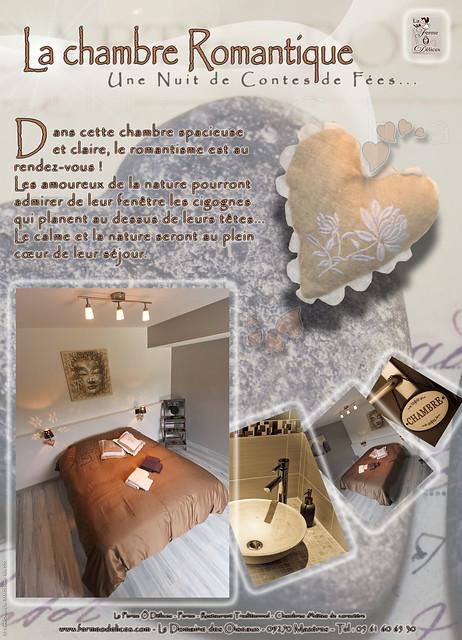 La chambre romantique nouvelles chambres d 39 h tes au doma for Chambre hote romantique