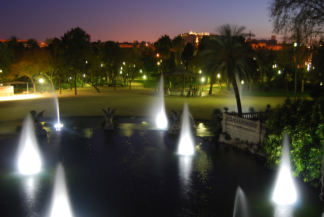 Barcelona fontains